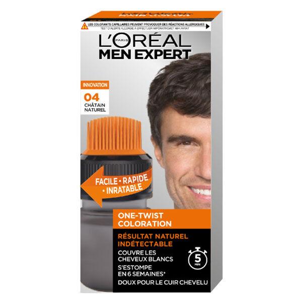 L'Oréal Paris Men Expert Coloration One-Twist N°4 Châtain Naturel