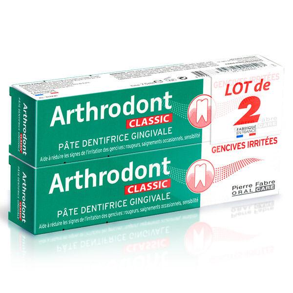 Arthrodont Classic Pâte Dentifrice Lot de 2 x 75ml