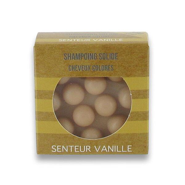 Valdispharm Shampooing Solide Cheveux Colorés Parfum Vanille 55g
