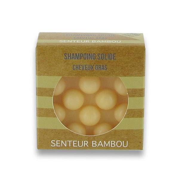 Valdispharm Shampooing Solide Cheveux Gras Parfum Bambou 55g