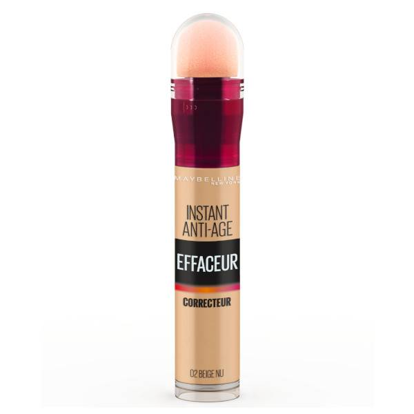 Maybelline New York Maybelline Instant Anti-Age l'Effaceur Anti-Cernes 02 Beige Nu 6,8ml