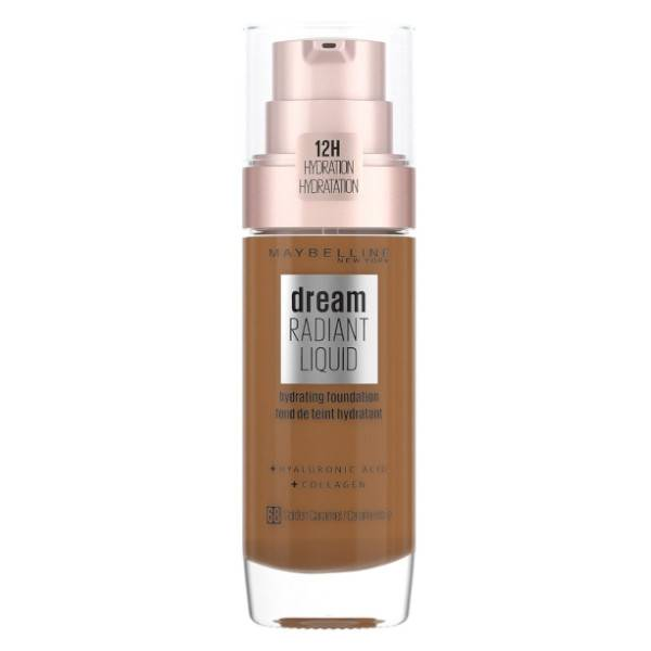 Maybelline Dream Satin Liquid Fond de Teint SPF13 68 Caramel Ambré 30ml