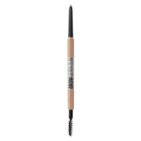 Maybelline Brow Ultra Slim Crayon à Sourcils Rétractable Haute-Précision Light Blonde 4,54g