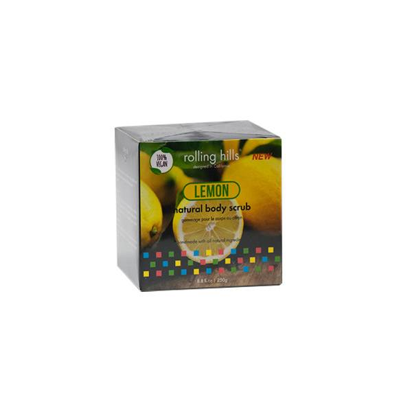 Rolling Hills Gommage Naturel Corps Citron Vegan 250g