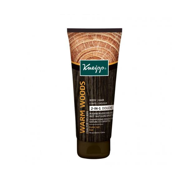 Kneipp Shampooing Douche Homme Cèdre Huile de Jojoba 200ml