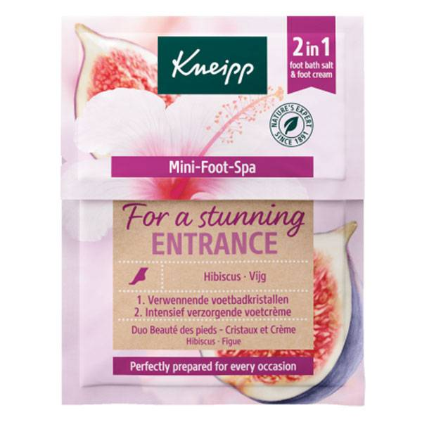 Kneipp Soin Pieds Mini Foot Spa Hibiscus Figue