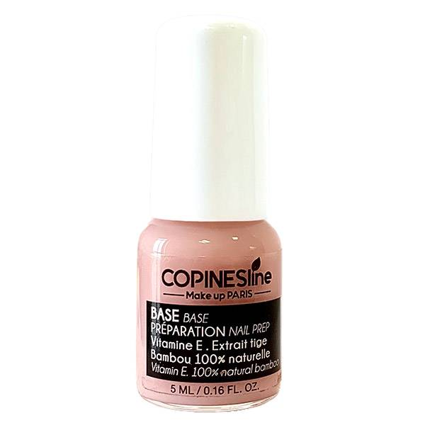 Copines Lines Vernis à Ongles Base Soin Bambou & Vitamine E 5ml