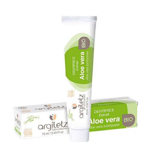 Argiletz Dentifrice Aloe Vera Bio 75ml