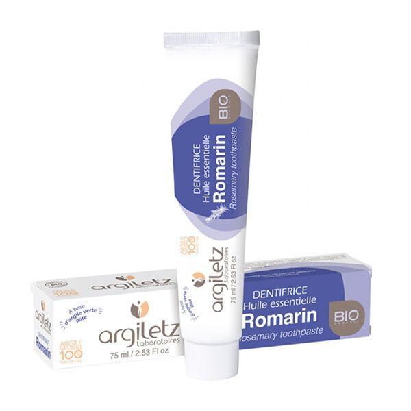Argiletz Dentifrice Romarin Bio 75ml