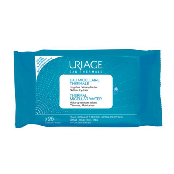 Uriage Eau Micellaire Thermale 25 Lingettes