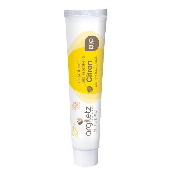 Argiletz Dentifrice Citron Bio 75ml
