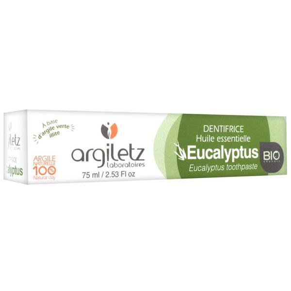Argiletz Dentifrice Eucalyptus Bio 75ml