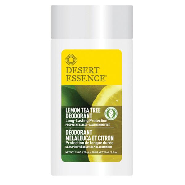Desert Essence Stick Déodorant Arbre à Thé et Citron 70ml