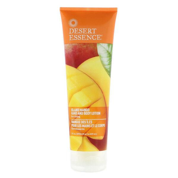 Desert Essence Crème Mangue des Iles Mains Corps 237ml