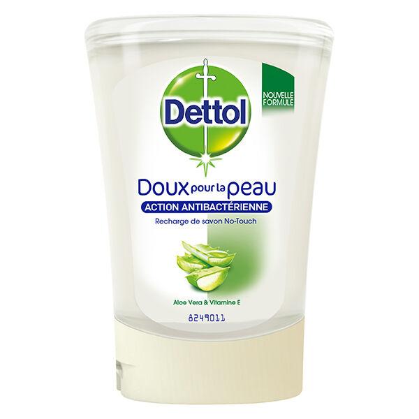 Dettol No-Touch Recharge Savon Gel Lavant Mains Aloe Vera 250ml