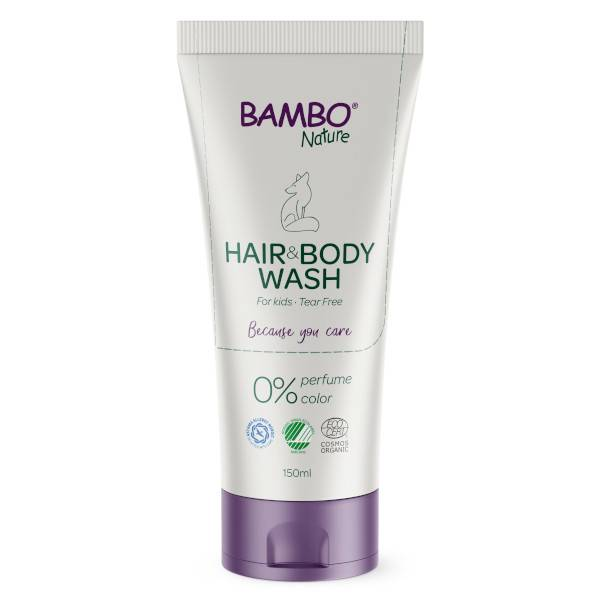 Bambo Nature Gel Lavant Cheveux et Corps Bio 150ml