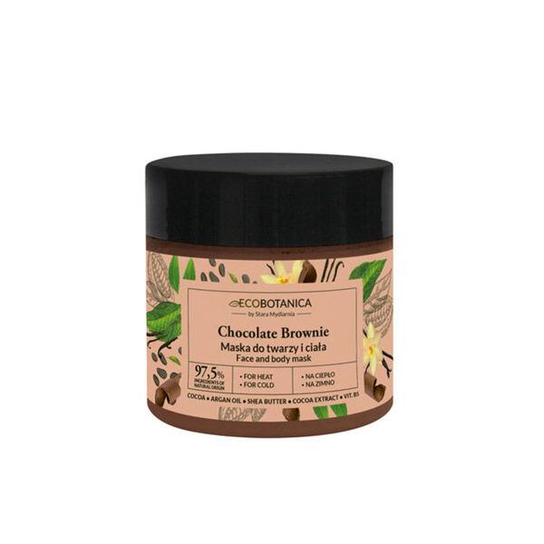 Eco Botanica Chocolat Brownie Masque Visage et Corps 200ml