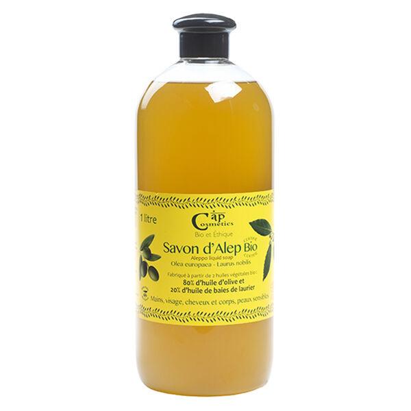Cap Cosmetics Savon d'Alep Liquide Bio 1L