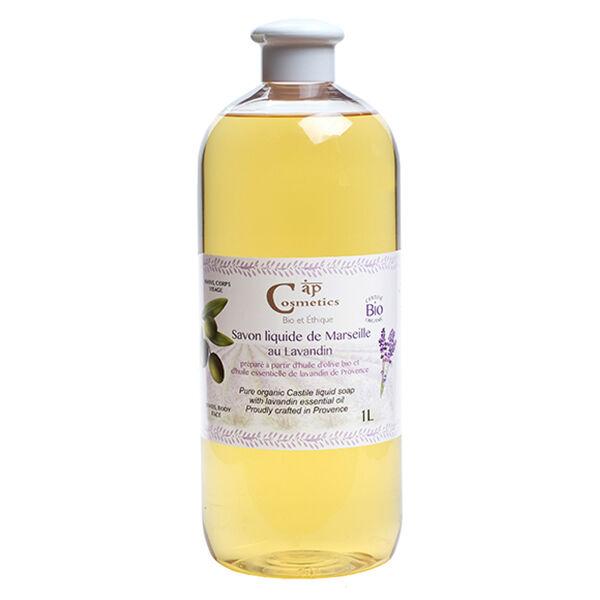 Cap Cosmetics Savon Liquide de Marseille Lavandin Bio 1L
