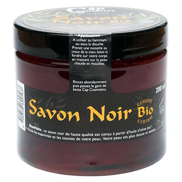 Cap Cosmetics Savon Noir Exfoliant Bio 200ml