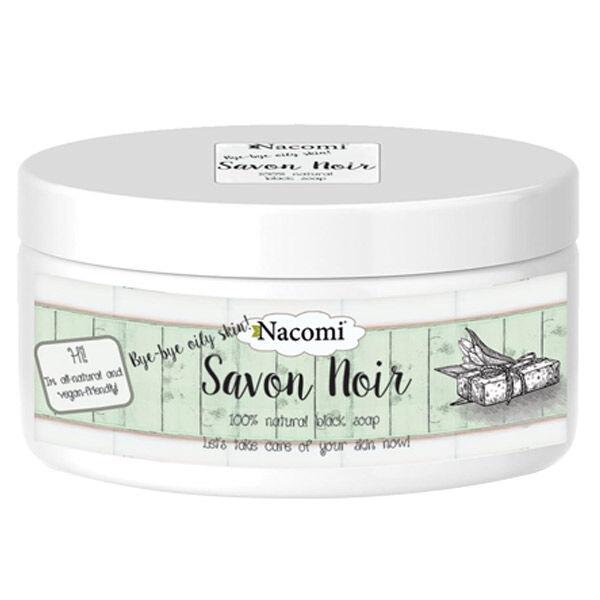 Nacomi Savon Noir Peaux Grasses 120g