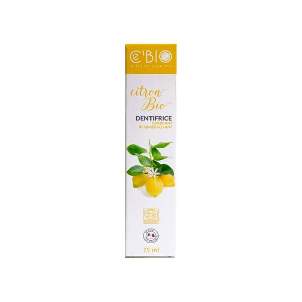 Gravier Ce'bio Dentifrice Citron 75ml