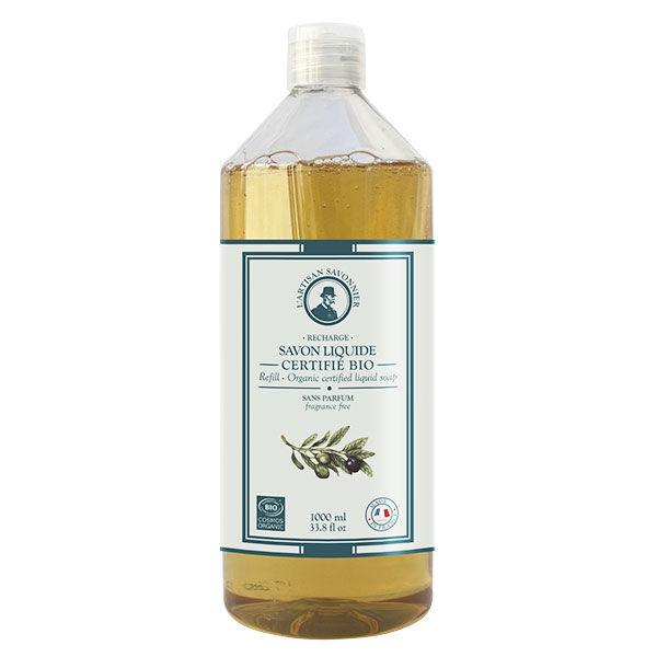 L'Artisan Savonnier Univers Savon L'Artisan Savonnier Savon Liquide Sans Parfum Recharge 1L