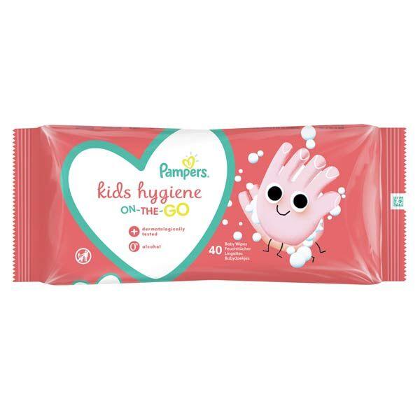 Pampers Kids Hygiène 40 lingettes