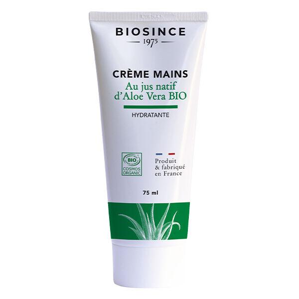 Gravier Biosince 1975 Crème Mains au Jus d'Aloé Vera Bio 75ml