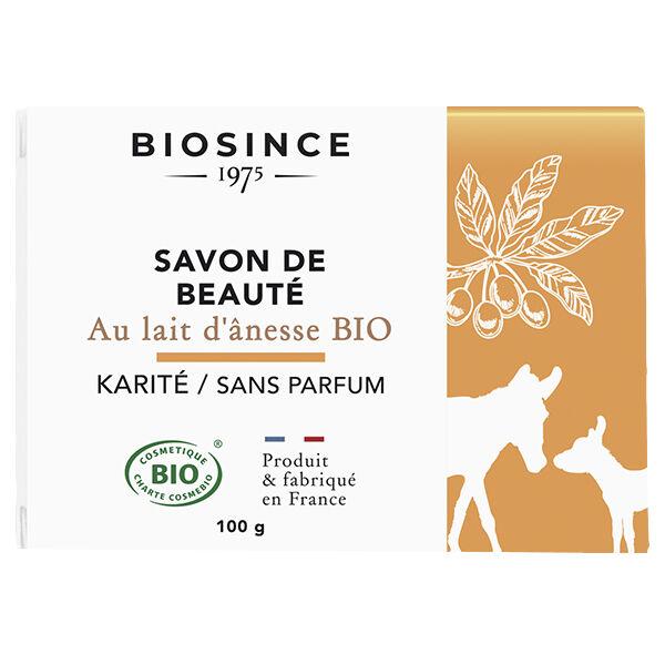 Gravier Biosince 1975 Savon de Beauté Lait d'Ânesse et Karité Bio 100g