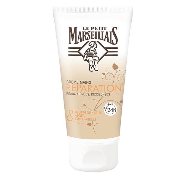 Le Petit Marseillais Crème Mains Réparation Karité, Aloès et Cire d'Abeille 75ml