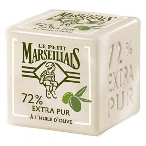 Le Petit Marseillais Savon 72% Extra Pur Huile d'Olive 200g