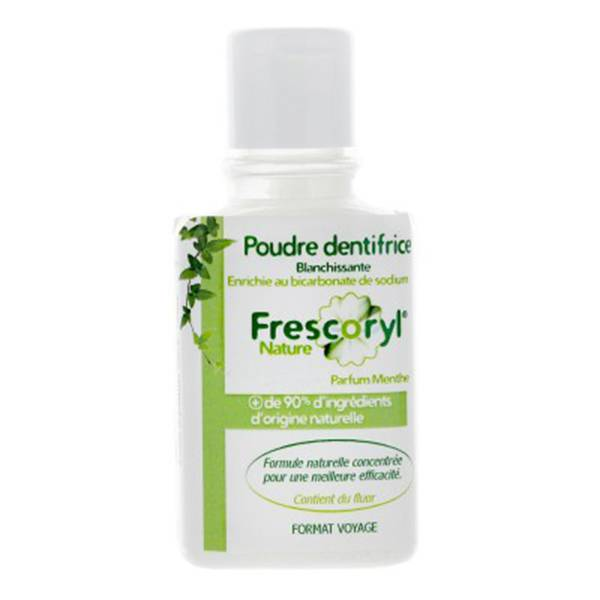 Frescoryl Nature Poudre Dentifrice Menthe 50g