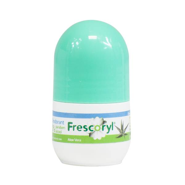 Frescoryl Déodorant Roll On Pierre d'Alun Aloé Vera 20ml