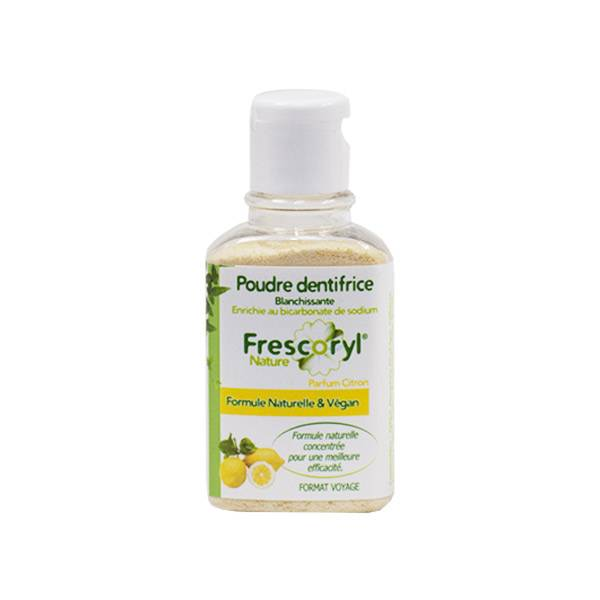 Frescoryl Nature Poudre Dentifrice Citron 40g
