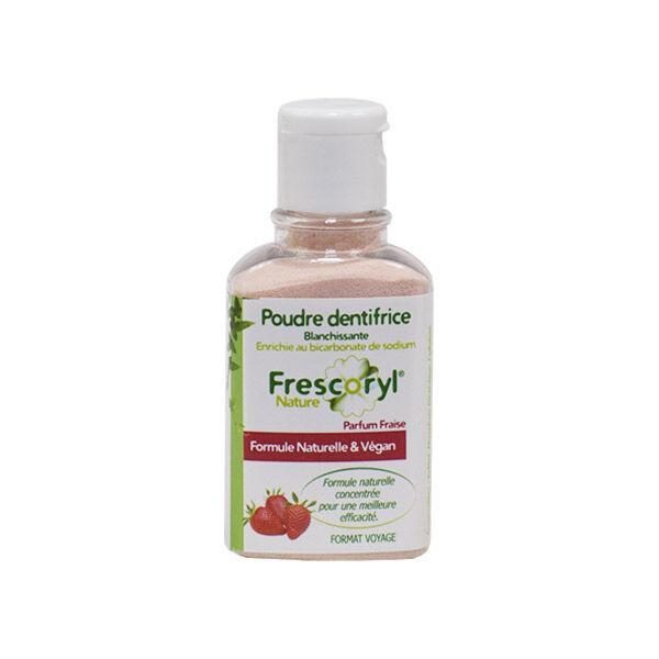 Frescoryl Nature Poudre Dentifrice Fraise 40g
