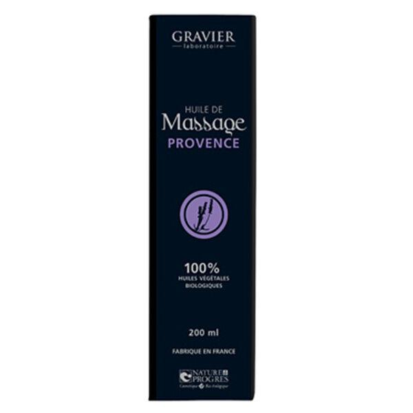 Gravier Huile de Massage Provence 100ml