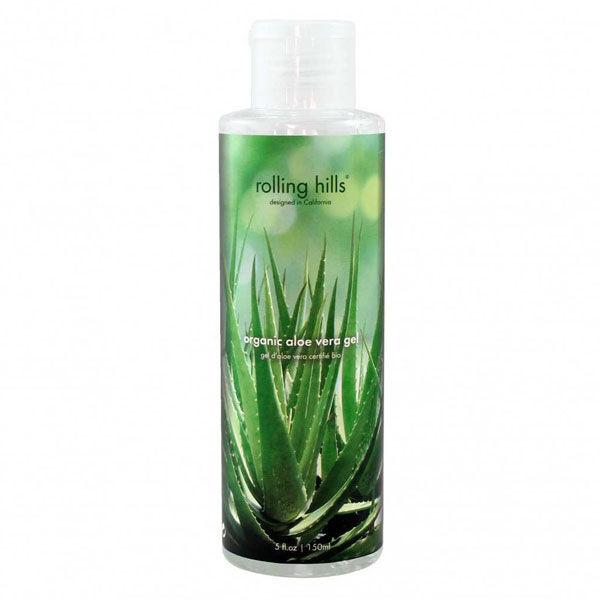 Rolling Hills Organic Gel Aloe Vera Bio 150ml