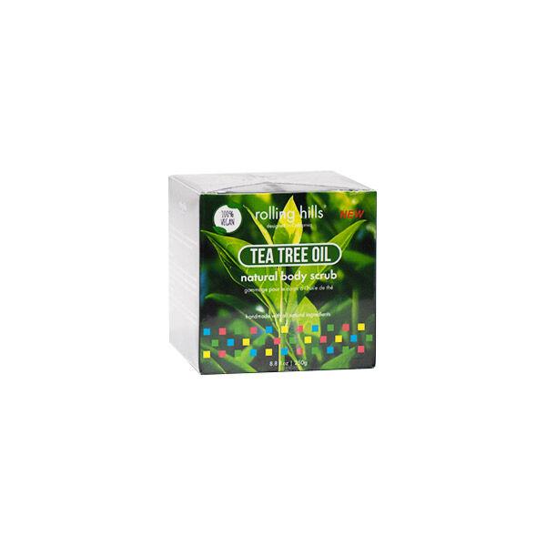 Rolling Hills Gommage Naturel Corps Tea Tree Vegan 250g