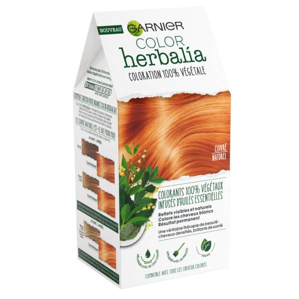 Herbalia Garnier Color Herbalia Coloration Cuivré Naturel