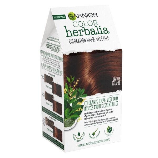 Herbalia Garnier Color Herbalia Coloration 100% Végétale Châtain Caramel