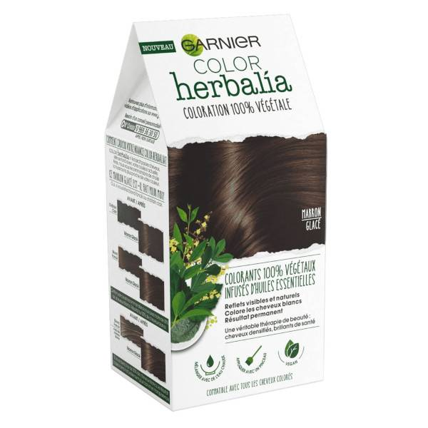 Herbalia Garnier Color Herbalia Coloration 100% Végétale Châtain Chocolat