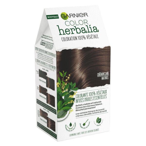 Herbalia Garnier Color Herbalia Coloration 100% Végétale Châtain Clair Naturel
