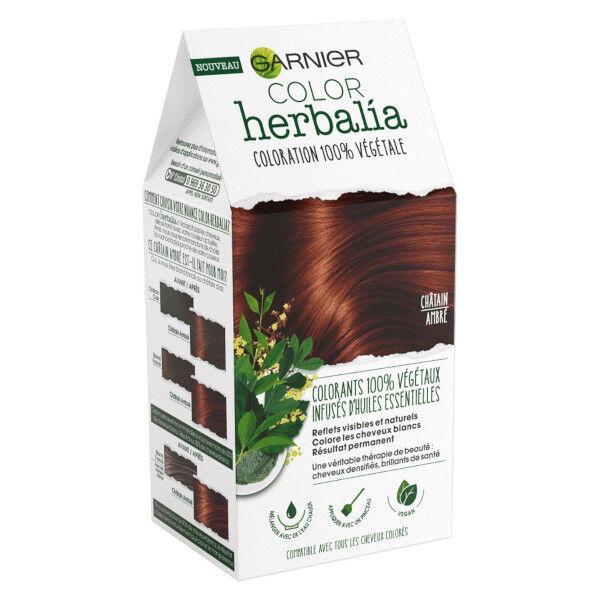 Herbalia Garnier Color Herbalia Coloration 100% Végétale Châtain Ambré