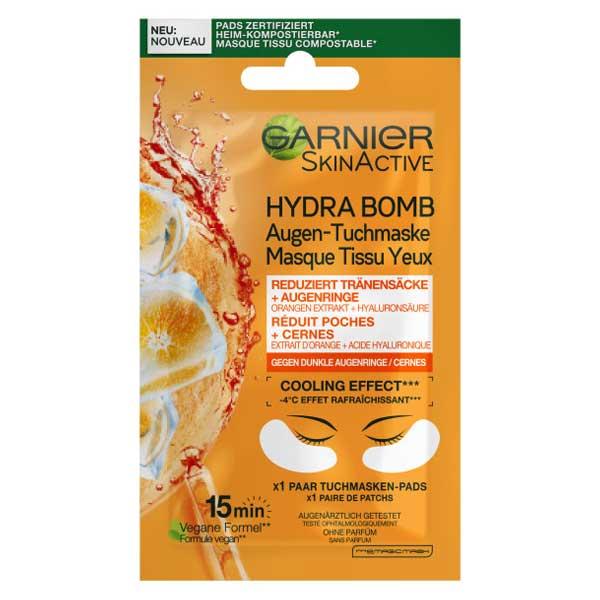 Garnier Skinactive Hydrabomb Masque Tissu Yeux Anti-Fatigue