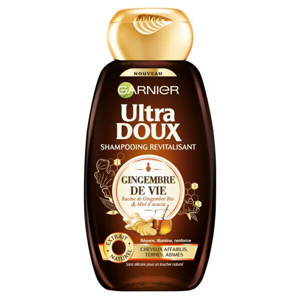 Garnier Ultra Doux Shampooing Revitalisant Gingembre de Vie 250ml