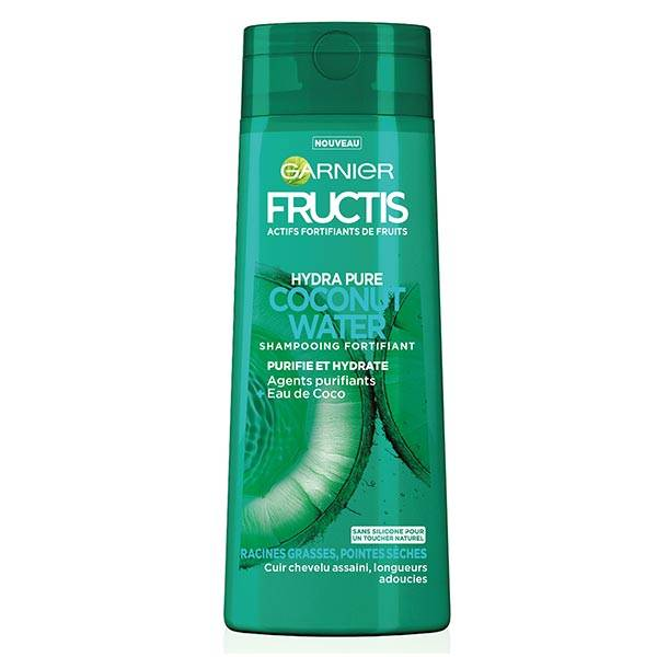 Garnier Fructis Hydra Pure Coconut Water Shampooing Fortifiant 300ml