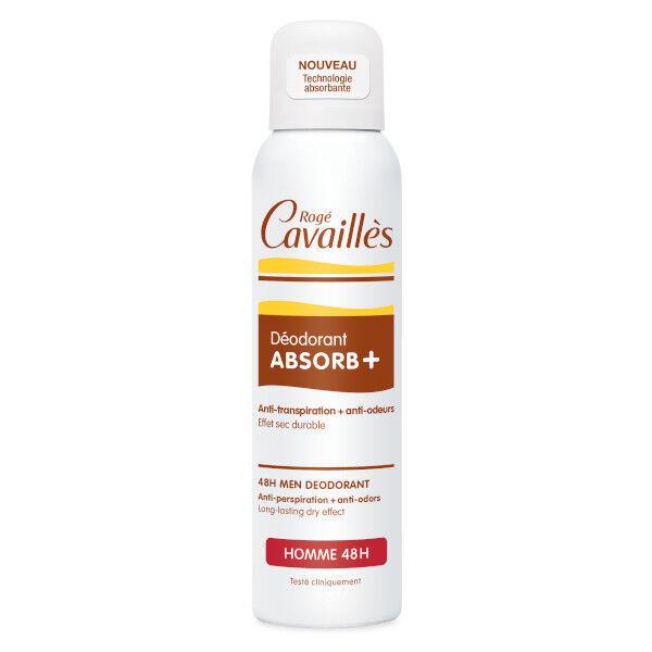 Rogé Cavaillès Absorb+ Déodorant Homme Spray 150ml