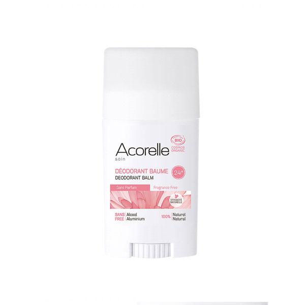Acorelle Déodorant Baume Bio Sans Parfum 40g