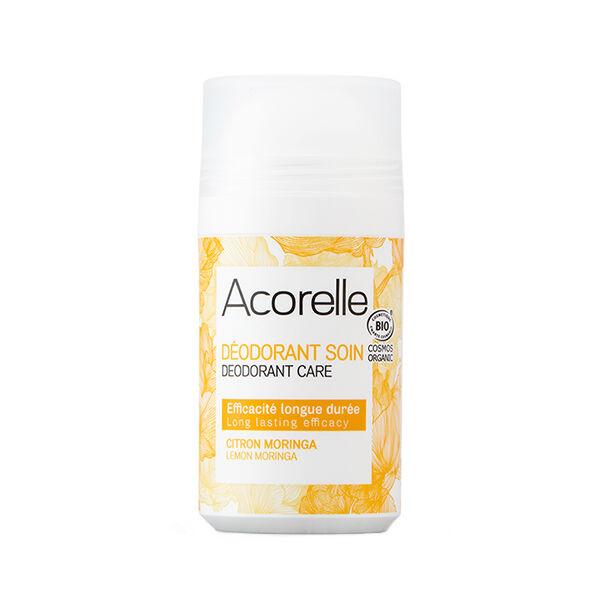 Acorelle Déodorant Soin Longue Durée Citron Moringa Bio 50ml
